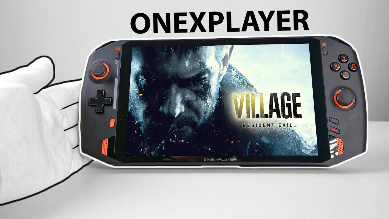 Portable AAA Gaming PC! - ONEXPLAYER Unboxing (Resident Evil Village, GTA5)