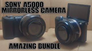 sony a5000 mirrorless camera review best deal on the internet