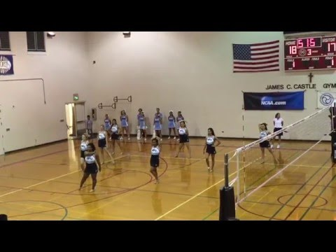 Hawaii Pacific University Dance Team 2015-2016
