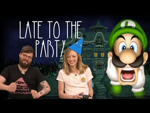 Let's Play Luigi's Mansion - Late to the Party