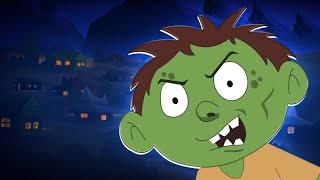 Zombie Town | Schoolies Cartoons | Halloween Song for Children