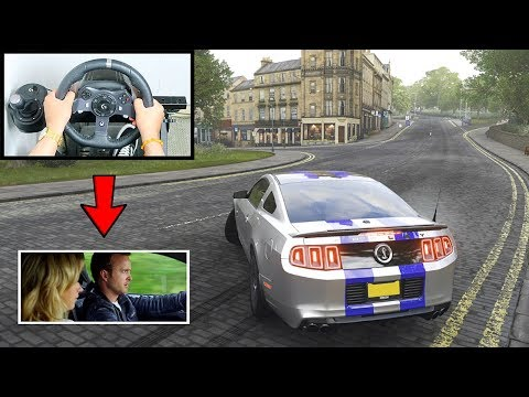 Forza Horizon 4 Toby Marshall Ford Mustang Shelby (Steering Wheel + Shifter) Need For Speed Gameplay