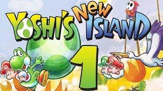 Let's Play Yoshis New Island Part 1: Neue Abenteuer auf Ei-Eiland