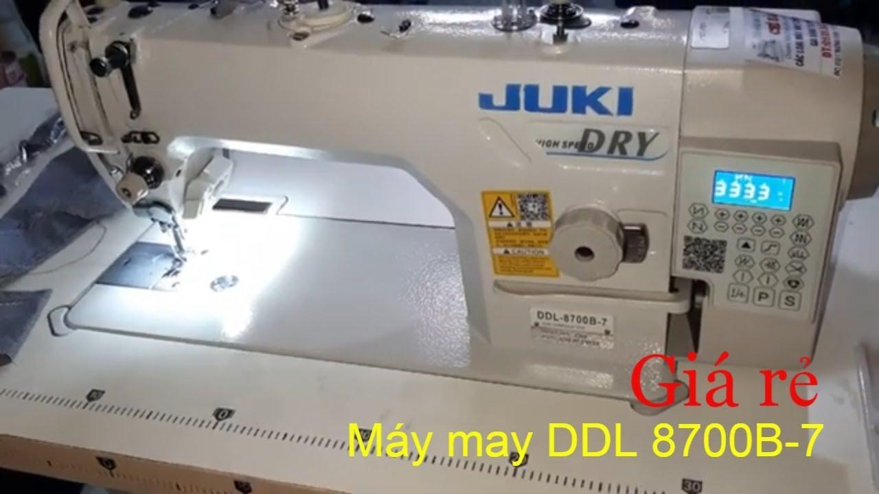 Máy May Công Nghiệp Điện Tử DDL 8700B-7 Đời Mới Giá Rẻ,| Máy May Chí Hải.