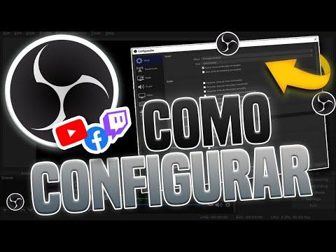 COMO CONFIGURAR O OBS STUDIO - 2017