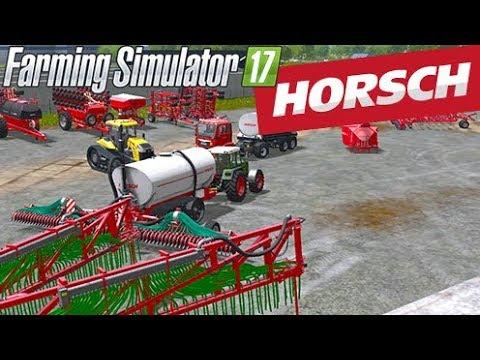 DÉCOUVERTE DU DLC HORCH ! Farming Simulator 17