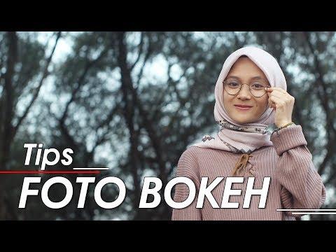 Membuat Foto Bokeh - Background Blur Maksimal