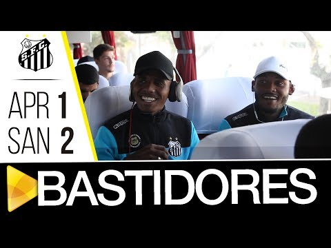 Atlético-PR 1 x 2 Santos | BASTIDORES | Brasileiro de Aspirantes (24/10/17)
