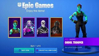 HOW TO HAVE ALL THE SKINS OF THE FREE GAME! (EXCLUSIVE SKINS) FORTNITE Brunostar05