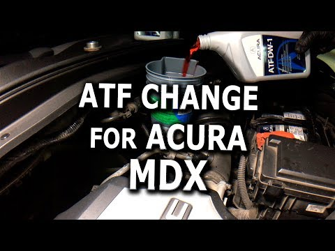 ATF Change DIY 2008 Acura MDX