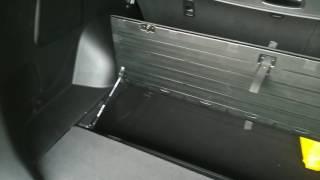 Газовый лифт пола багажника соренто