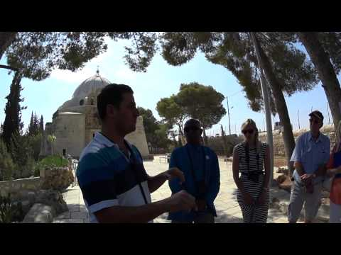 The story of the Shepherds' Field, Beit Sahour (near Bethlehem), Tour Guide: George Saadeh