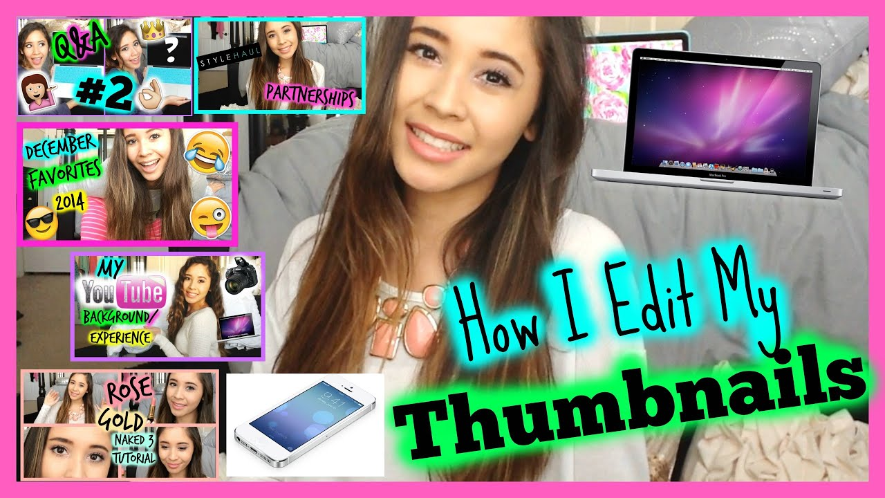 how to put thumbnails on youtube videos