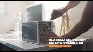 Blackmagic Pocket Cinema Camera 6k Unboxing #BMPCC6K #Blackmagic