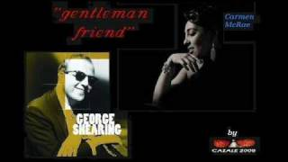 george shearing and carmen mcrae gentleman friend.wmv