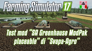 "[""Greg79;"", ""Greg79"", ""modpak"", ""placeable di svapa-agro"", ""greenhause"", ""sa"", ""farming simulator 17 test mod"", ""Gaming autore grafica"", ""Sweet Insanity"", ""CD digitale"", ""mod posizionabile"", ""Link Marhu"", ""fs15"", ""fs17"", ""ls15"", ""ls17"", ""serre"", ""fragole"""
