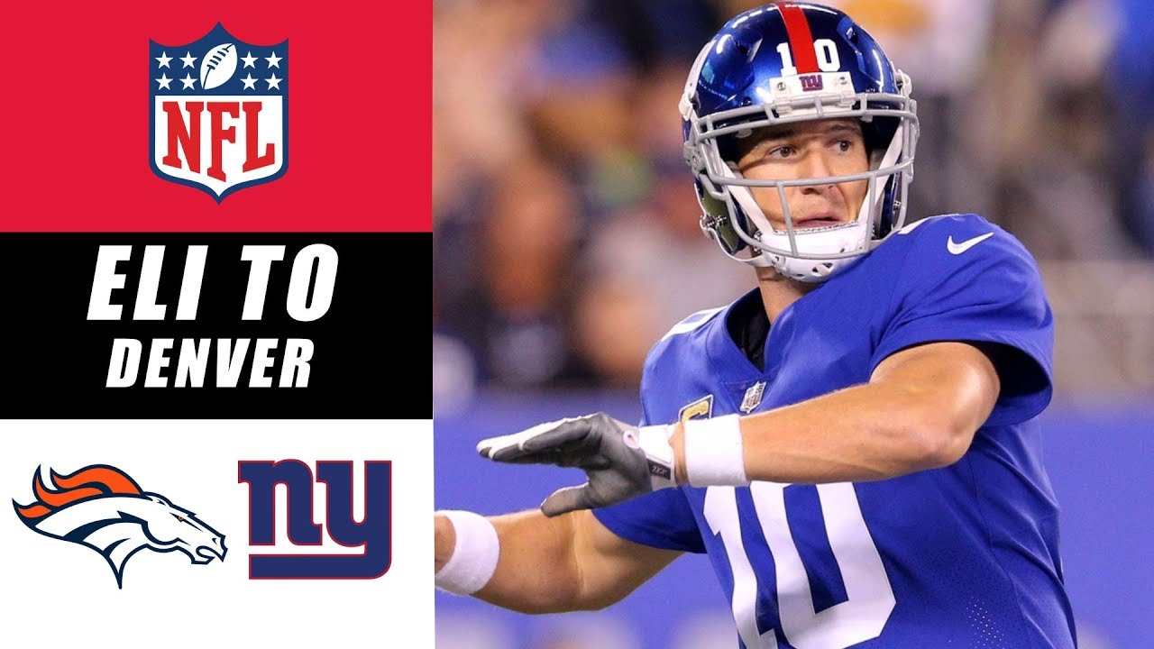 Broncos Trying to Acquire Eli Manning