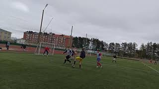Шингарино Ретро юность второй тайм мини футбол