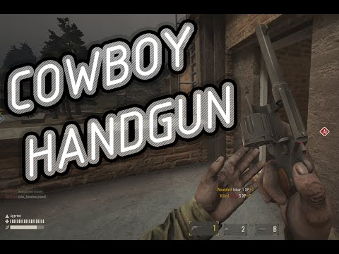 heroes-and-generals---the-cowboy-handgun!-(m1917-review)