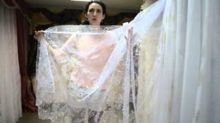 Тюль прозрачная с нежной вышивкой и утяжелителем(Турецкий фатин с нежной вышивкой. Белый тюль. Купить тюль вы можете на сайте - http://salon-gardin.com.ua/ или позвонив..., 2015-10-27T10:40:23.000Z)