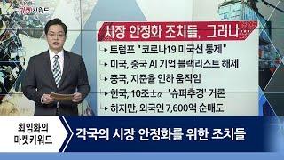각국의 시장 안정화을 위한 조치들 / 최임화의 마켓키워드 / 매일경제TV