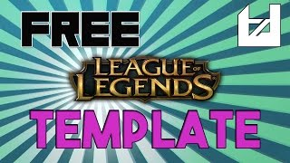 League of Legends Channel Art Template [1]