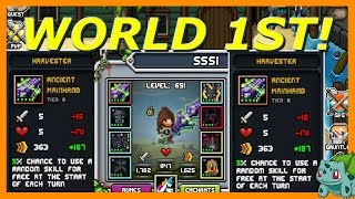 SSS1 Finds The World's 1st Ancient Weapon! - Bit Heroes