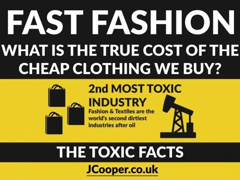 Fast Fashion Toxic Facts