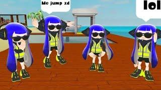 Agent X party (Roblox Splatoon)