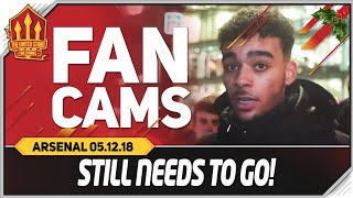 MOURINHO Needs To Go! Manchester United 2-2 Arsenal Fancam