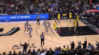 3rd Quarter, One Box Video: San Antonio Spurs vs. Los Angeles Lakers