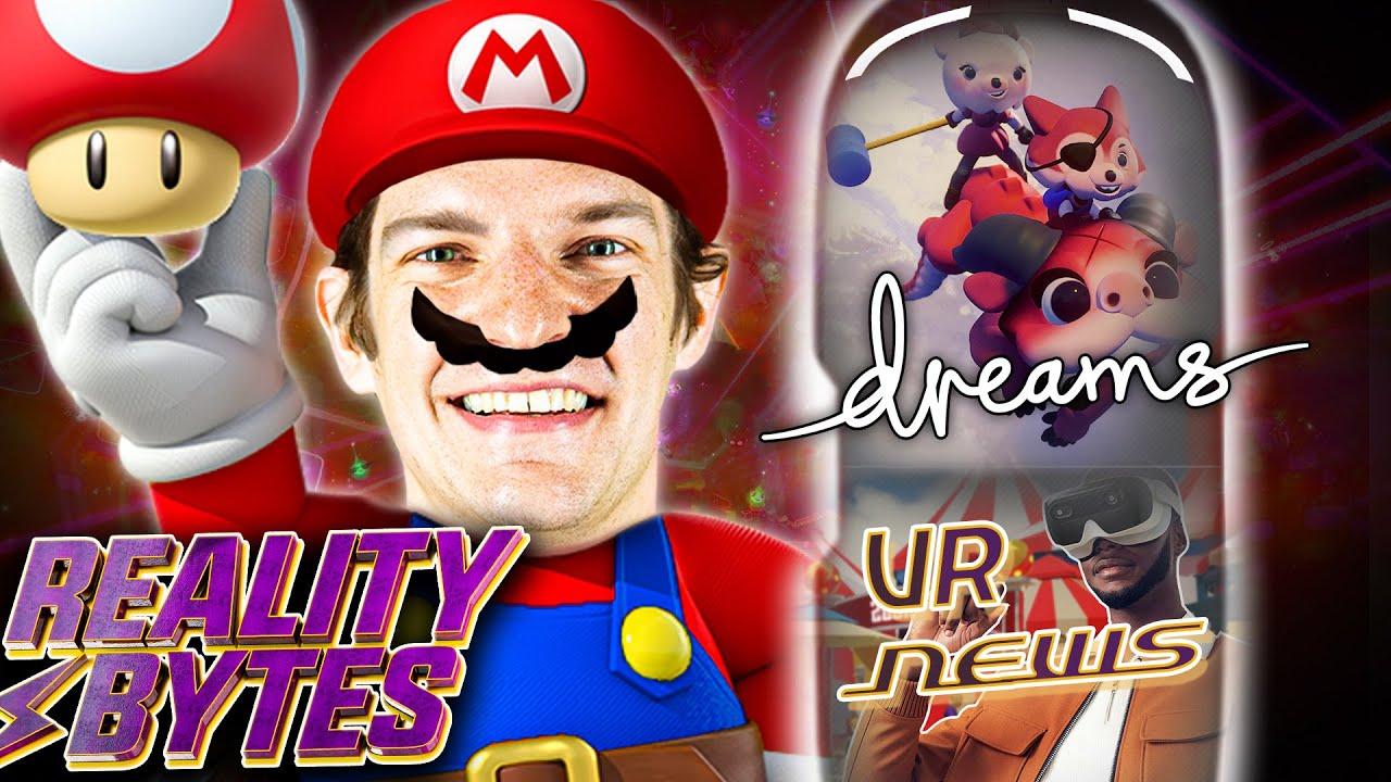 Super Mario, Horror & Übelkeit - Dreams VR macht's möglich + Holodeck bald Realität? | Reality Bytes