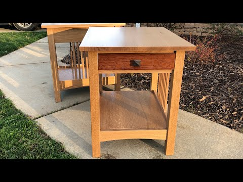 Matt's End Tables - Part 2