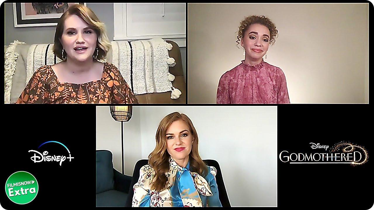 GODMOTHERED | Jillian Shea Spaeder, Isla Fisher & Jillian Bell Interview
