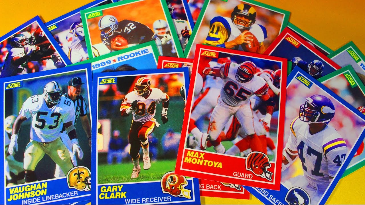 1989 Score Football Sports Card Pack Opening Barry Sanders Troy Aikman