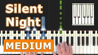 Silent Night Piano Tutorial Easy - Sheet Music Synthesia.mp3