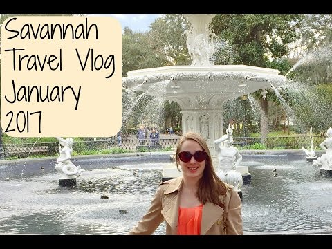 Savannah Travel Vlog- Come Explore Savannah Georgia With Me!