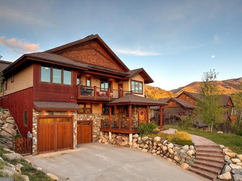Custom mountain home in steamboat springs colorado youtube for Custom mountain homes