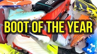THIS IS THE 2018 FOOTBALL BOOT OF THE YEAR!