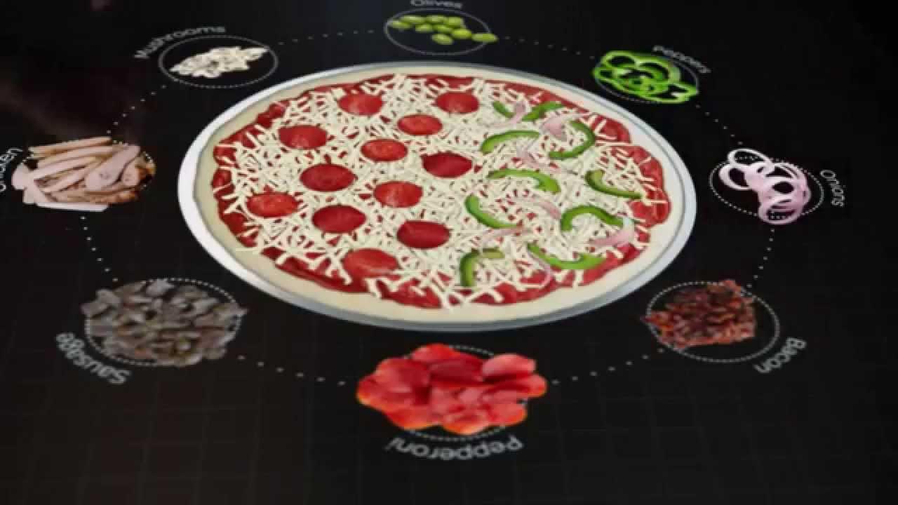 Pizza hut mesa interactiva youtube - Restaurante pizza hut ...