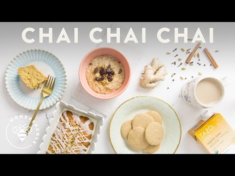 3 CHAI Recipes inspired by TAZO® ☕ Honeysuckle