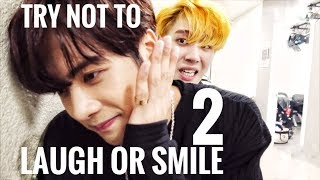 GOT7 Try Not To Laugh or Smile Challenge! #2 | Funny Moments MP3
