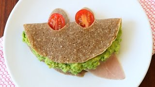 Gluten Free Buckwheat Crepes With Mozzarella, Avocado, Ham & Tomatoes Recipe