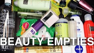 BEAUTY EMPTIES | Products I've Used Up