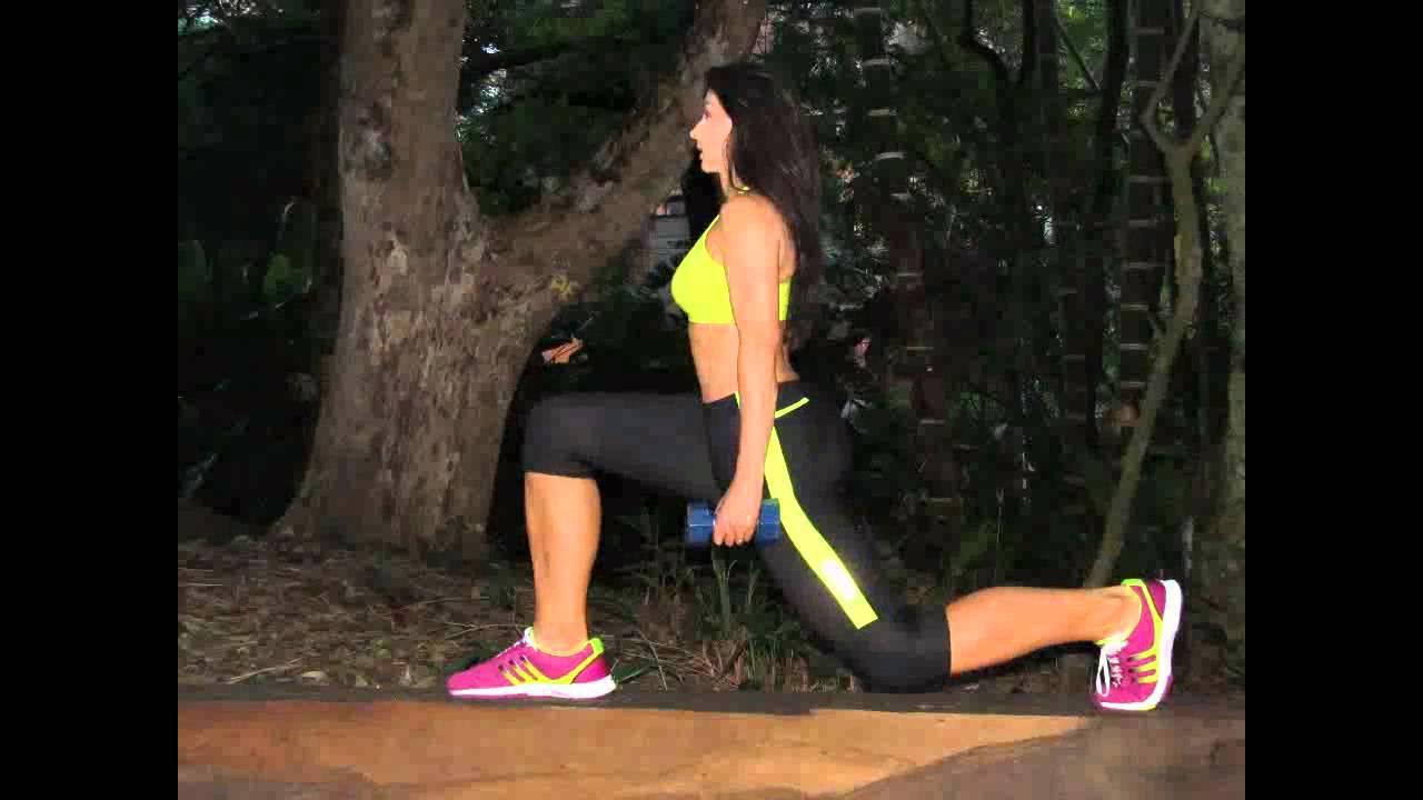 Ejercicios libres para piernas y gluteos