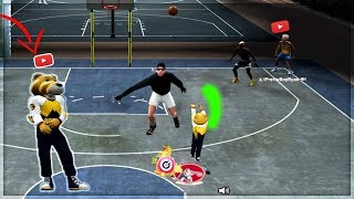 I UNLOCKED THE WORLDS SMALLEST MASCOT ON NBA 2K19.... NBA 2k19 my park dribble