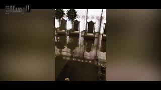الكويت تغرق.. أمطار غزيرة وسيول في منطقة الخليج
