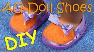 DIY AG American Girl Doll Shoes