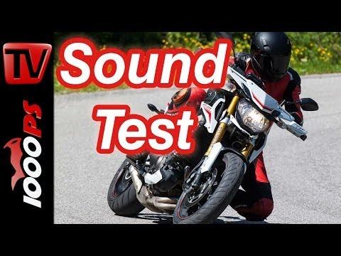 Soundvideo | Yamaha MT-09 Street Rally | 3-Zylinder Motorsound