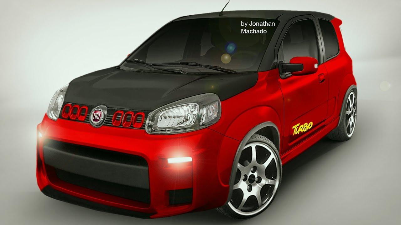 Render Novo Fiat Uno Turbo Concept 1 4 Multiair 167 Cv 23 Kgfm
